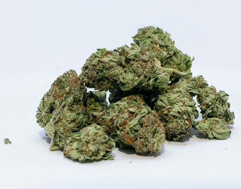 Top Shelf Weed in A Dispensary