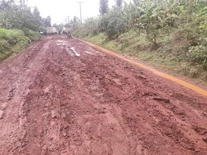 Bad roads in Kisumu City